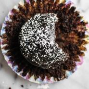 Flour-less Chocolate Brownie Muffins